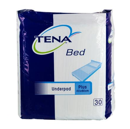 Пеленки TENA Bed plus 40x60 см (30 шт.)