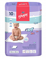 Пелюшки Bella Baby Happy 60x60 см (10 од.)