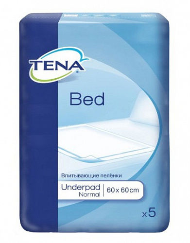Пелюшки TENA Bed normal 60x60 см (5 од.)