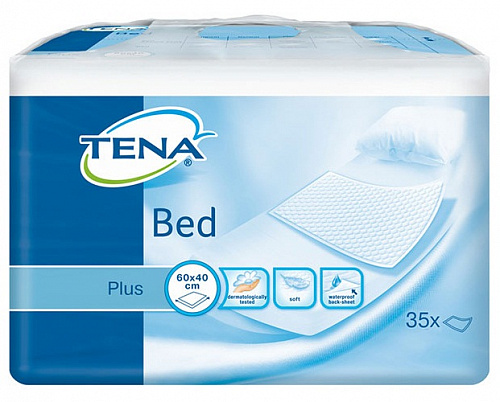Пелюшки TENA Bed plus 40x60 см (35 од.)