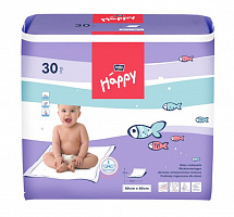 Пелюшки Bella Baby Happy 60x60 см (30 од.)