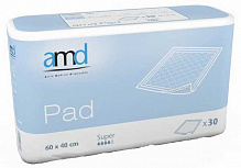 Пеленки AMD Pad Super 60x40 см (30 шт.)