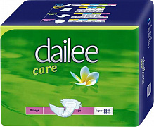 Підгузки Dailee Super Extra Large в талії 140-155 см (30 шт.)