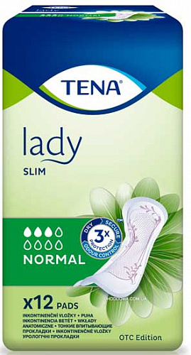 Прокладки TENA Lady Normal (12 од.)