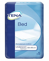 Пелюшки TENA Bed normal 90x60 см (5 од.)