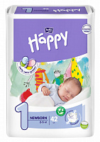 Підгузки Bella Baby Happy 1 Newborn (42 од.)