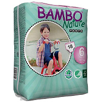Трусики-підгузки Bambo Nature Pants XL 6 (18+ кг) 18 шт.