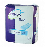 Пелюшки TENA Bed plus 90x60 см (20 од.)